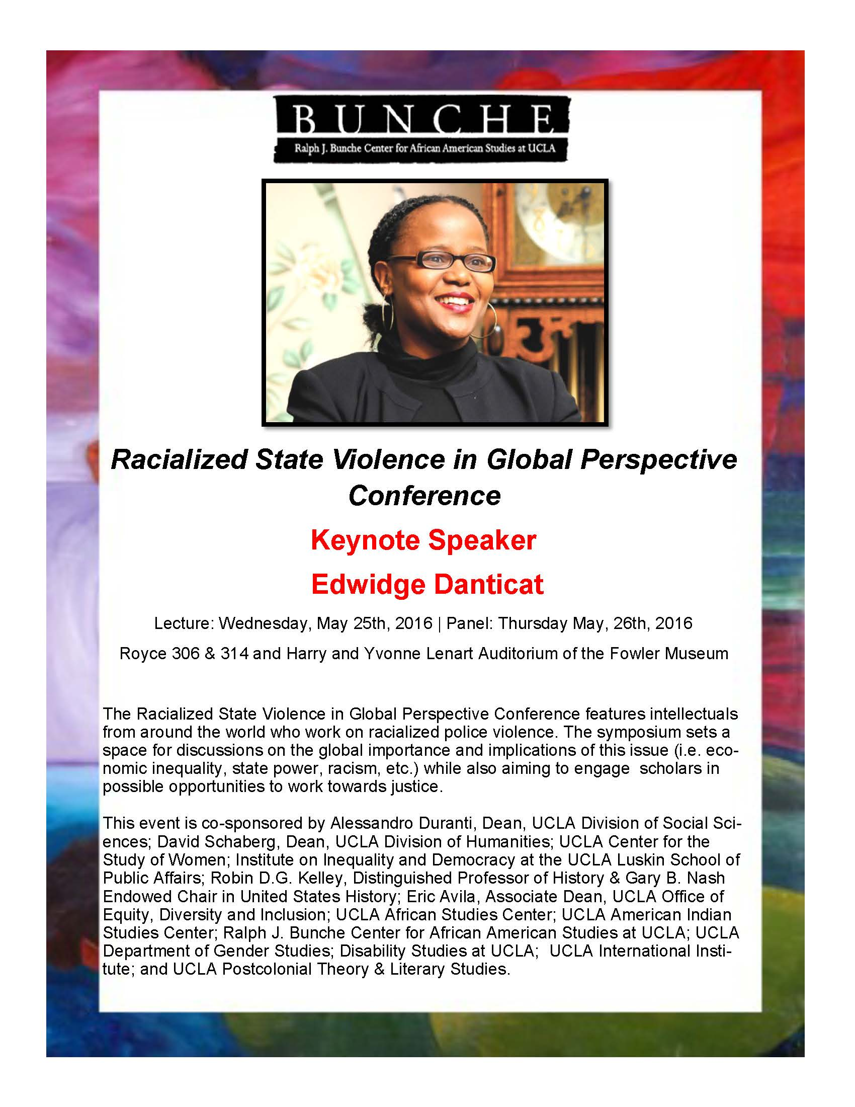 5-25-16 Racialized State Violence Conf